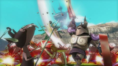 Hyrule Warriors : Definitive Edition dévoile quelques nouveaux visuels