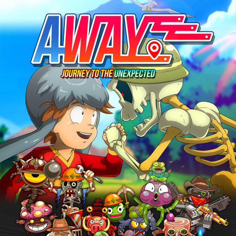 AWAY : Journey to the Unexpected sur PS4