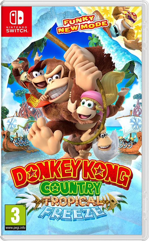 Donkey Kong Country : Tropical Freeze sur Switch