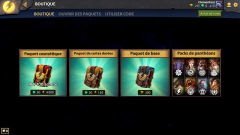 Hand of the Gods : Smite Tactics, au panthéon des jeux de cartes ?