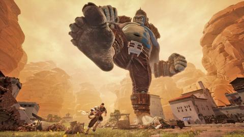 Extinction - Combat contre un géant