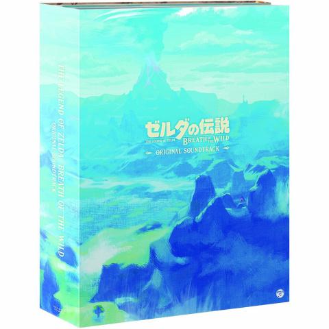 La bande originale de Zelda Breath of the Wild arrive en coffret au Japon