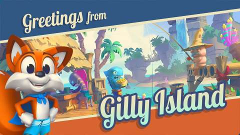Super Lucky's Tale : Gilly Island