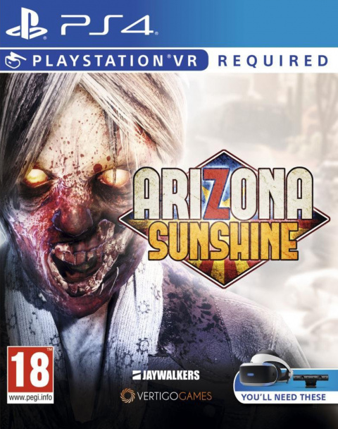 Arizona Sunshine sur PS4