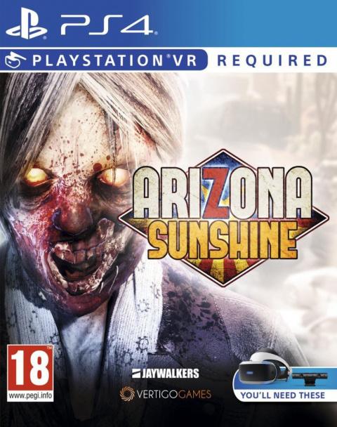 Arizona Sunshine sur PS4