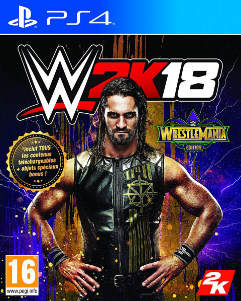 WWE 2K18 : WrestleMania