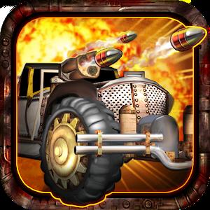 Steampunk Racing 3D sur iOS