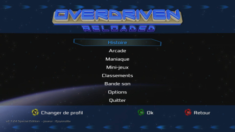 Overdriven Reloaded Special Edition, le shoot'em up à la française