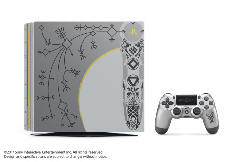 Une Playstation 4 Pro aux couleurs de God of War