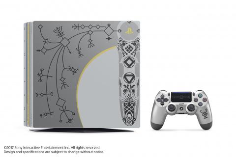 Une PS4 Pro édition limitée magnifique se dévoile — God of War