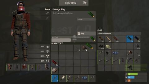 Rust : La survie a trouvé l'un de ses maîtres