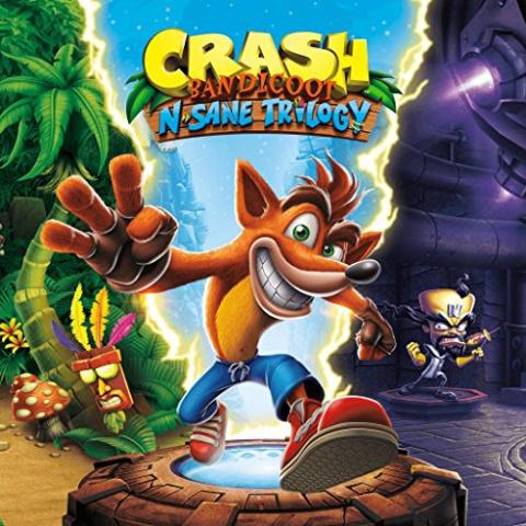 Crash Bandicoot N. Sane Trilogy sur ONE