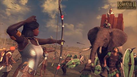 TW : Rome II - Desert Kingdoms : Nouvelles factions et femmes à l'honneur sur PC