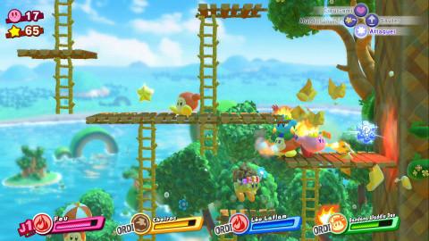 Kirby Star Allies : La boule rose est de retour. Est-elle en pleine (plate) forme ?