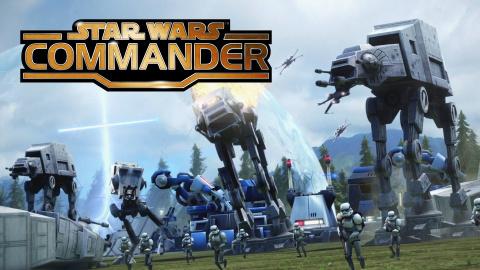 Star Wars : Commander sur iOS