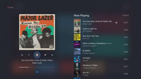 Deezer est disponible sur Xbox One, 90 jours offerts