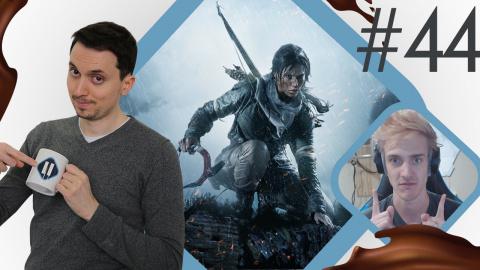 Pause Cafay #44 : L'ombre de Lara, Witcher Calibur, record sur Twitch