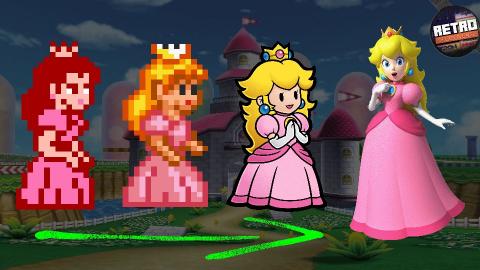 Retro Découverte - L'histoire de la princesse Peach