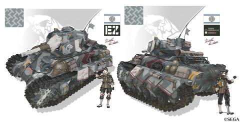 Valkyria Chronicles 4 : Le char Hafen et ses camouflages mis à l'honneur