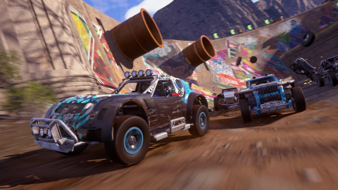 Onrush : quand Burnout, Motorstorm et League of Legends font des enfants...