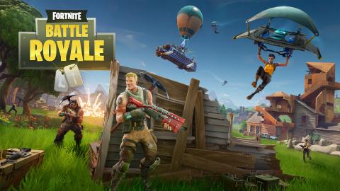 Fortnite Battle Royale sur Mac
