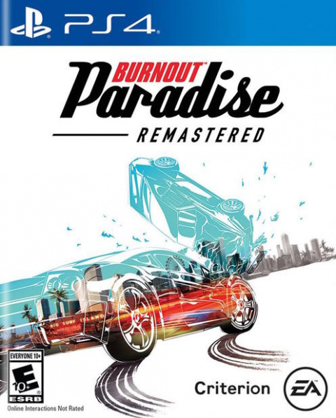 Burnout Paradise Remastered sur PS4