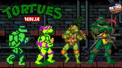 Retro Découverte - Les Tortues Ninja