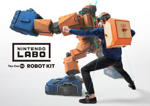 Toy-Con 02 - Kit Robots sur Switch