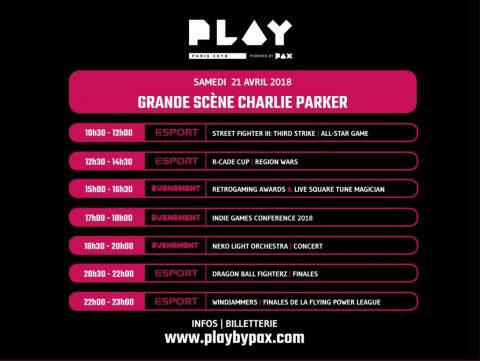 Play Paris Powered by PAX détaille son programme