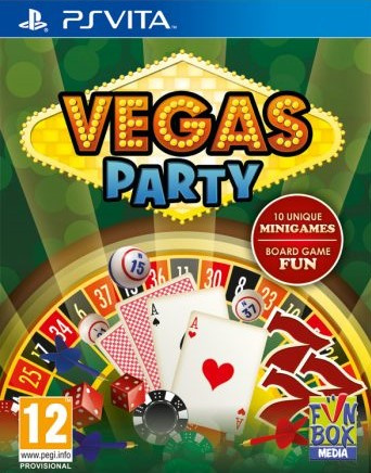 Vegas Party sur Vita