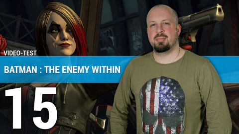 Batman The Enemy Within : Une justice expéditive en 3 minutes