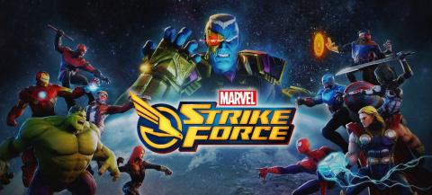 Marvel Strike Force sur iOS