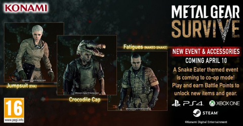 Metal Gear Survive : Un événement MGS 3 à venir