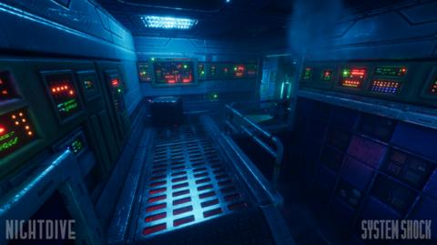 Une poignée d'images pour le remake de System Shock