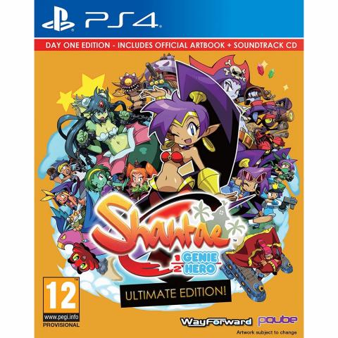 Shantae : Half-Genie Hero Ultimate Edition sur PS4