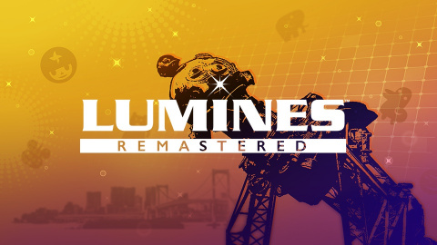 Lumines Remastered sur Switch