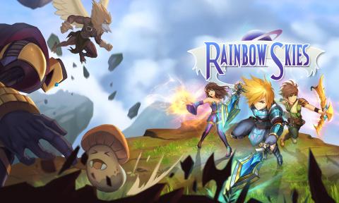 Rainbow Skies sur Vita