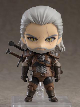 The Witcher 3 Wild Hunt : Nendoroid sort une nouvelle figurine de Geralt de Riv
