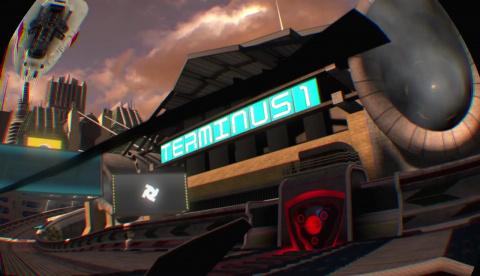WipEout Omega Collection VR : Le jeu inventé pour la VR