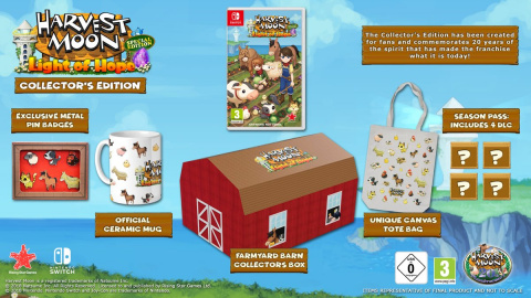Harvest Moon : Light of Hope sortira le 22 juin sur PS4 et Switch