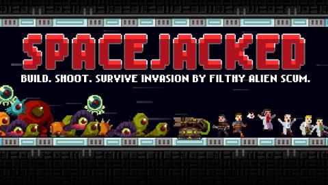Spacejacked : les aliens vont manger du pixel
