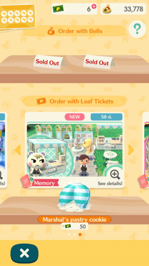 Animal Crossing : Pocket Camp ajoute ses lootboxes