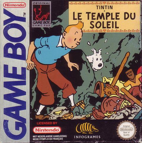 Tintin : Le Temple du Soleil sur GB