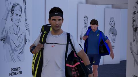 AO International Tennis présente son mode création de stade