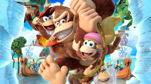 Donkey Kong Country : Tropical Freeze - Funky Kong, le marchand, le surfeur, l'aventurier