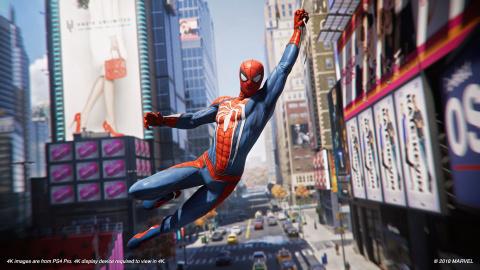 Spider-Man : une toile de maître ? sur PS4