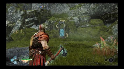Cascade de pierre – Coup de marteau