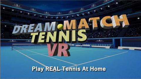 Dream Match Tennis VR sur PS4