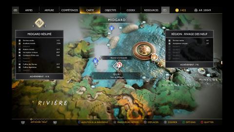 Artefacts - Le lac des neufs