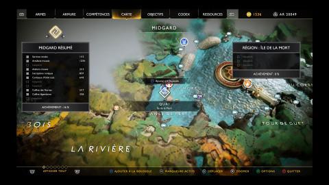 Artefacts - Île de la mort